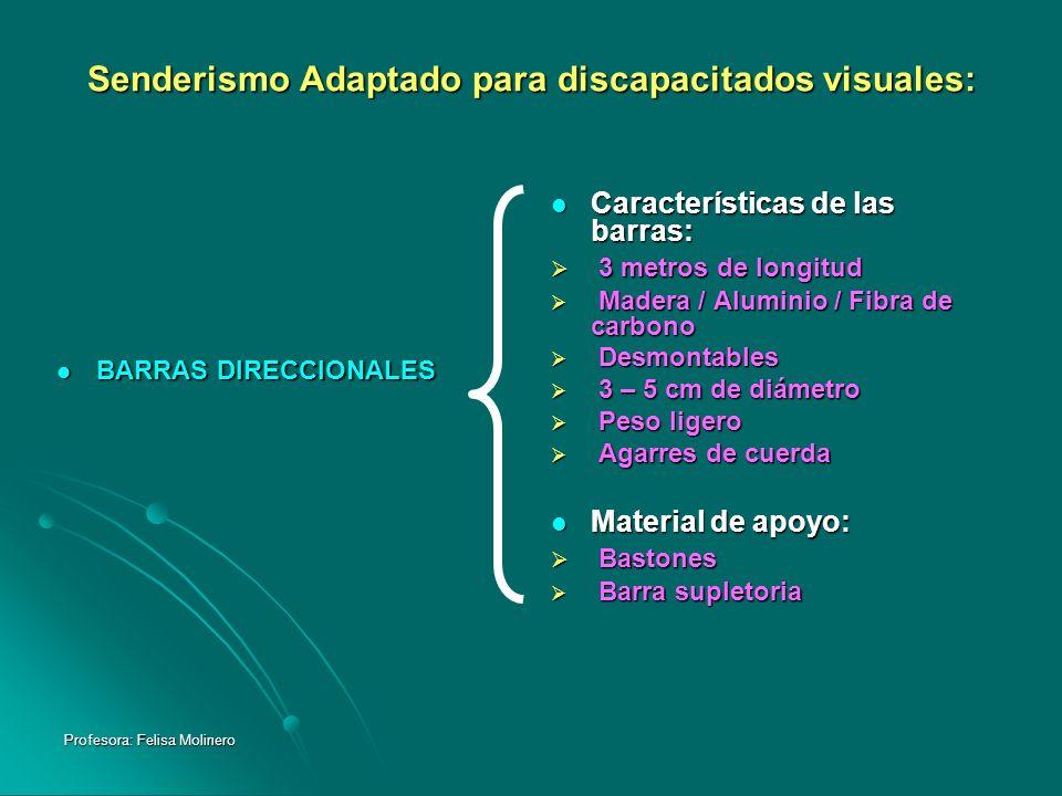 Senderismo Adaptado para discapacitados visuales: