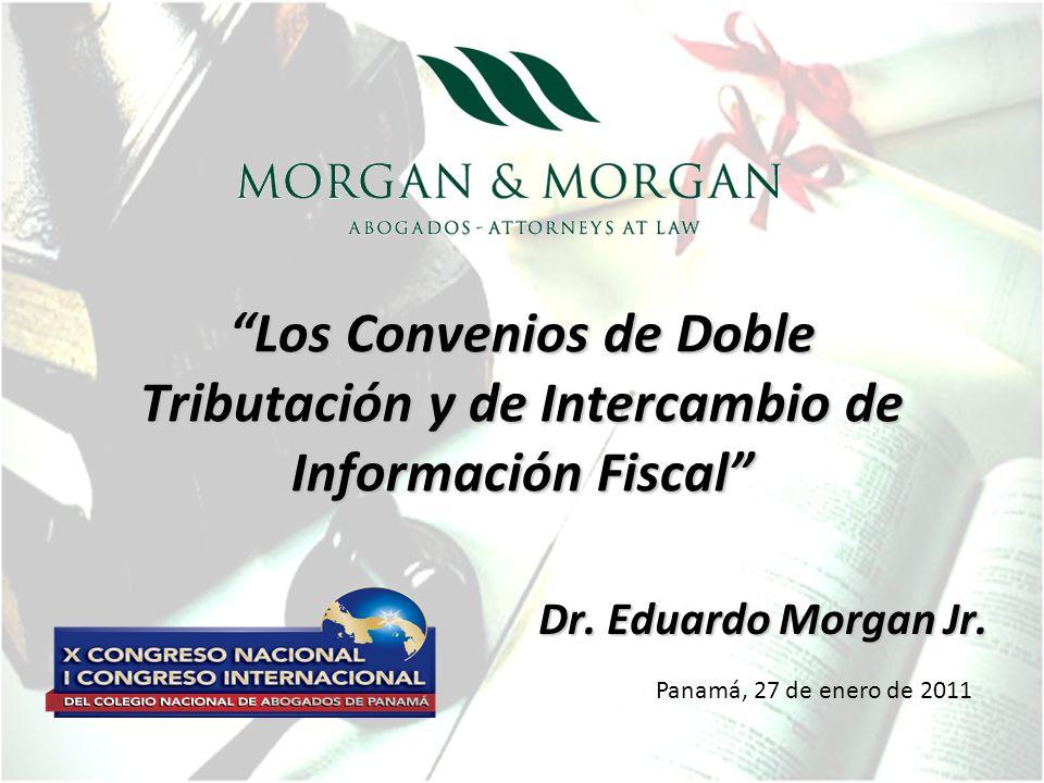 Los Convenios de Doble Tributación y de Intercambio de Información Fiscal