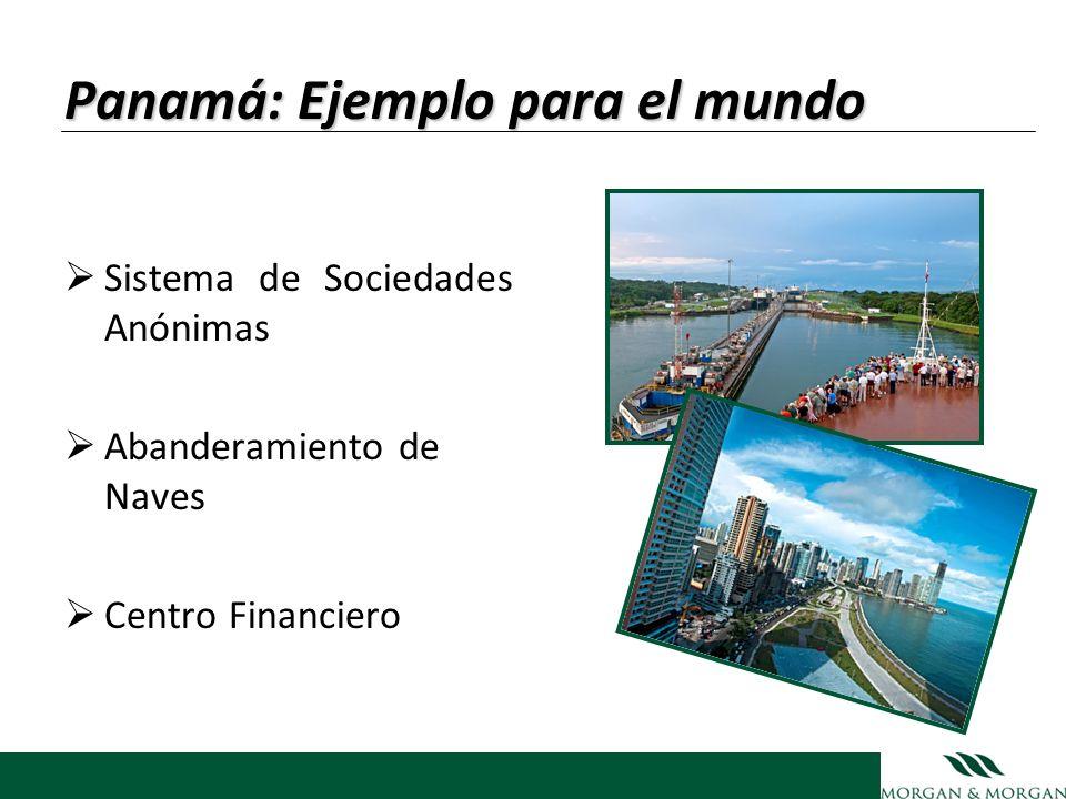 Panamá: Ejemplo para el mundo