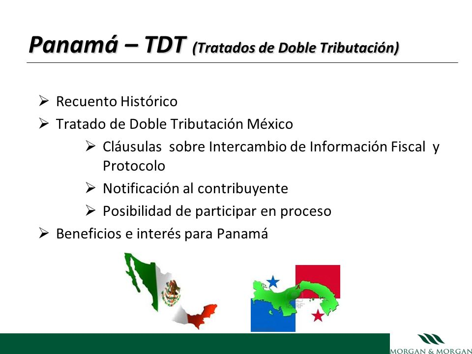 Panamá – TDT (Tratados de Doble Tributación)