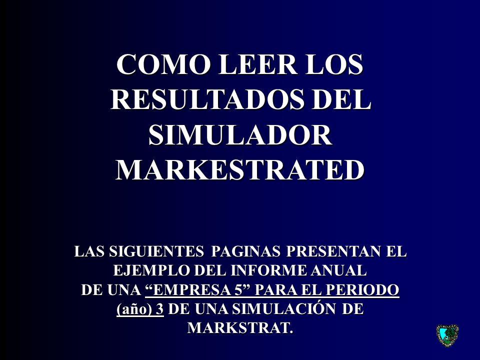 COMO LEER LOS RESULTADOS DEL SIMULADOR MARKESTRATED