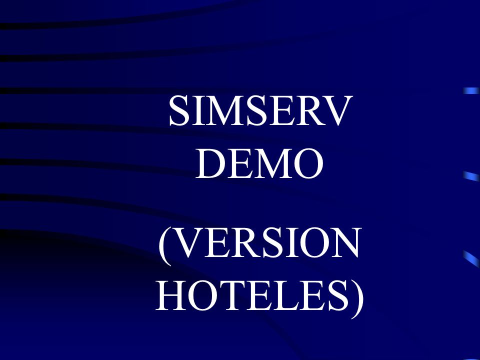 SIMSERV DEMO (VERSION HOTELES)