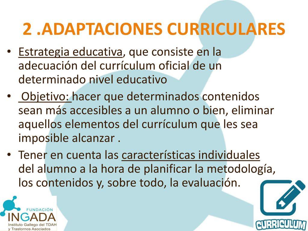 Aspectos Pedagógicos del TDAH - ppt descargar
