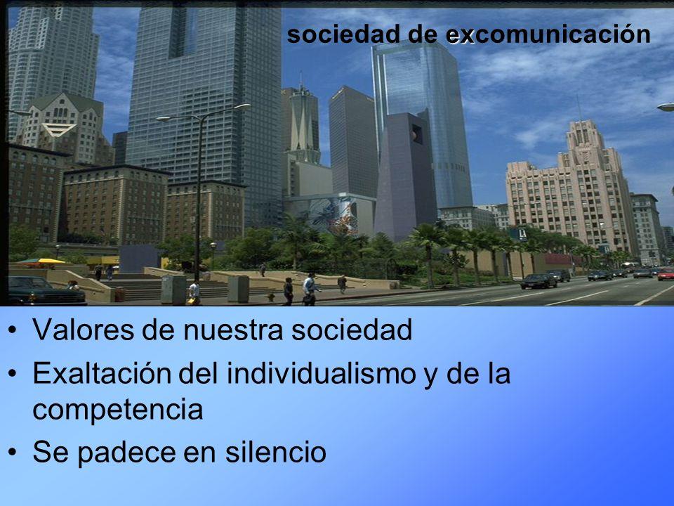 Valores de nuestra sociedad