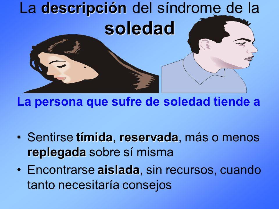 La descripción del síndrome de la soledad