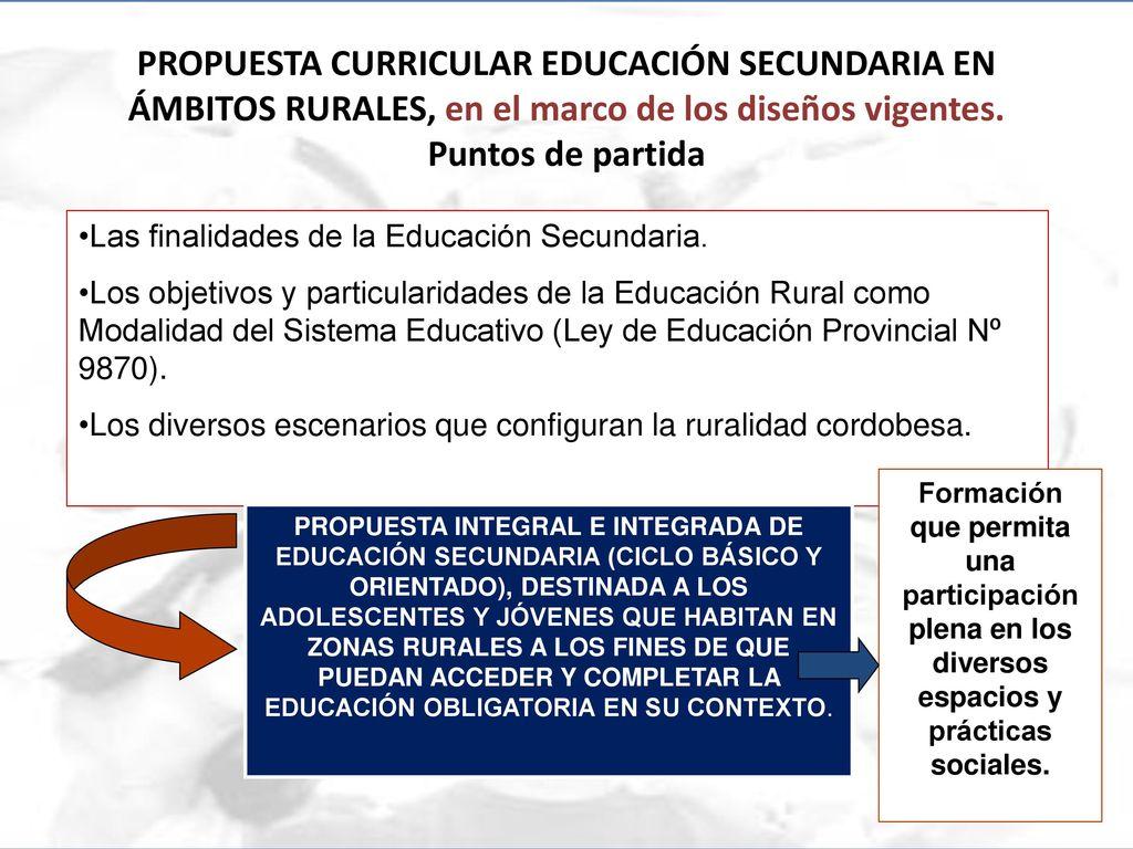 POLÍTICA CURRICULAR ARGENTINA CÓRDOBA - ppt descargar