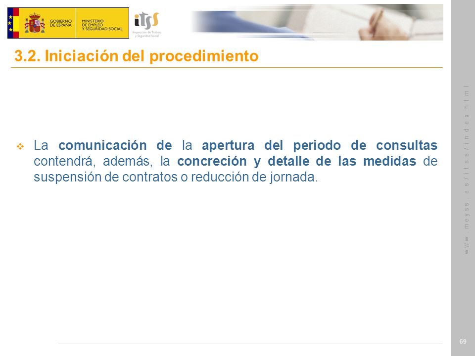 3.2. Iniciación del procedimiento