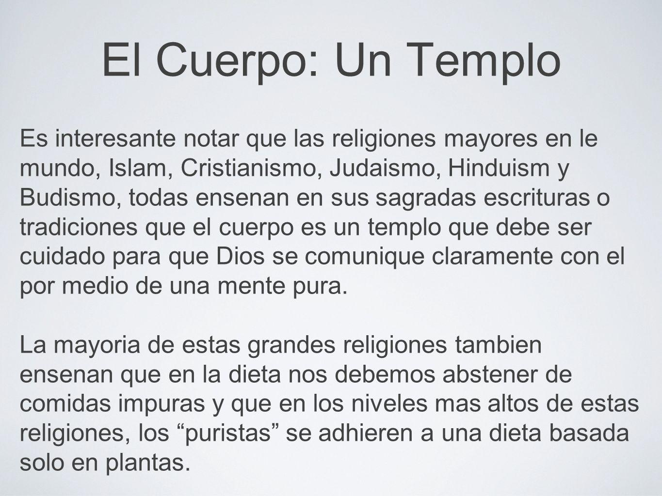 El Cuerpo: Un Templo