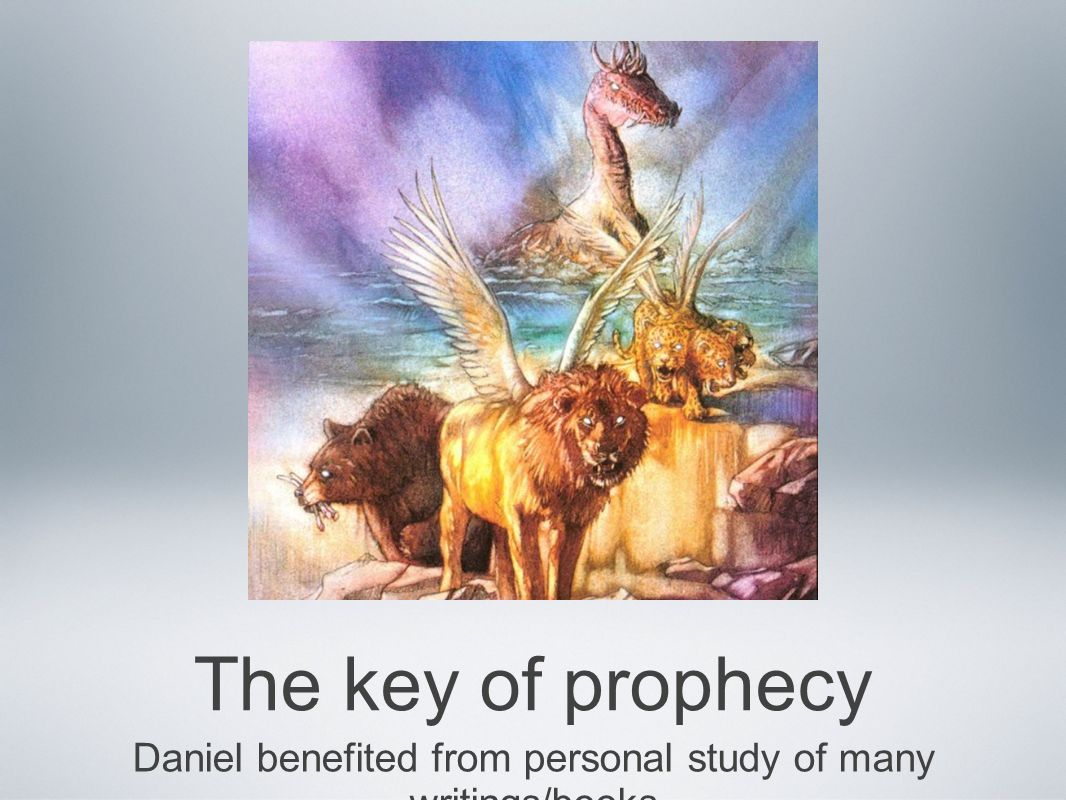 Daniel benefited from personal study of many writings/books