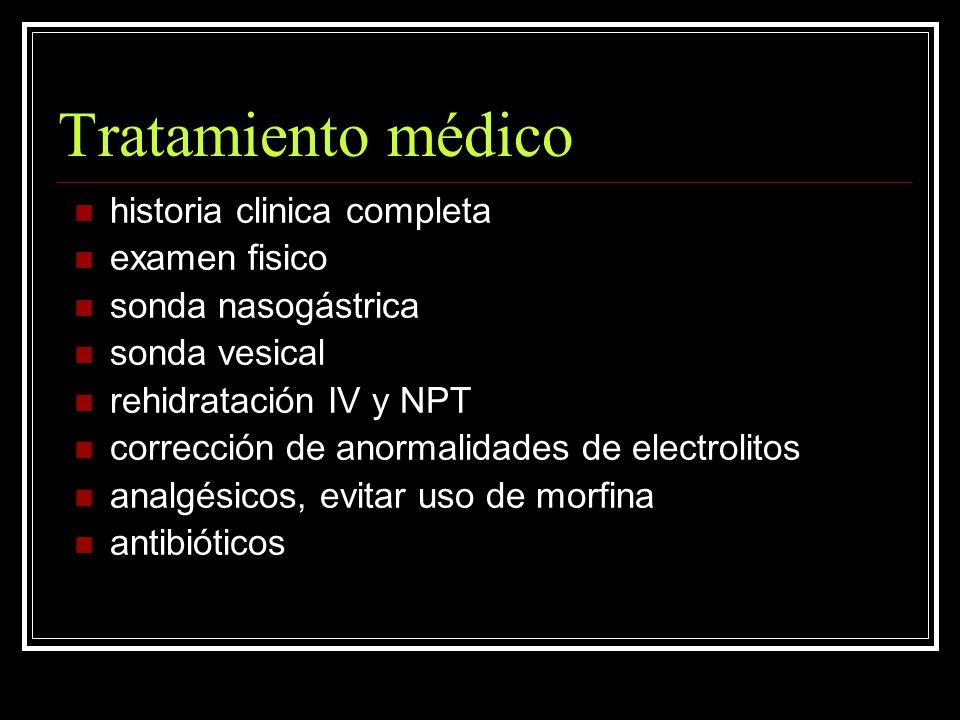 Tratamiento médico historia clinica completa examen fisico