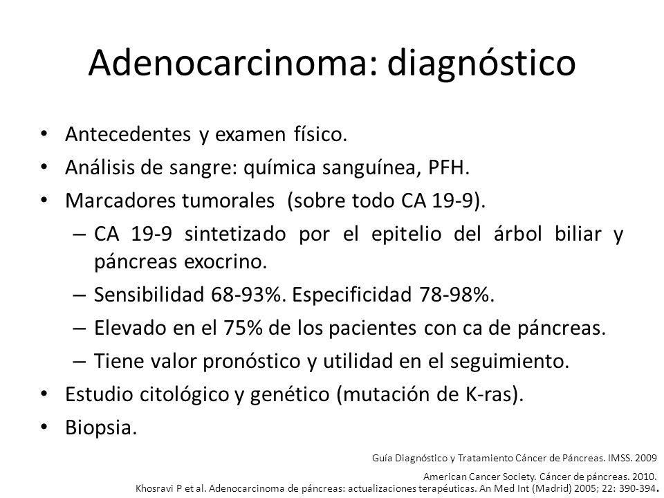 Adenocarcinoma: diagnóstico
