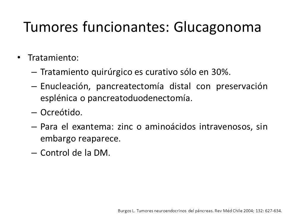 Tumores funcionantes: Glucagonoma
