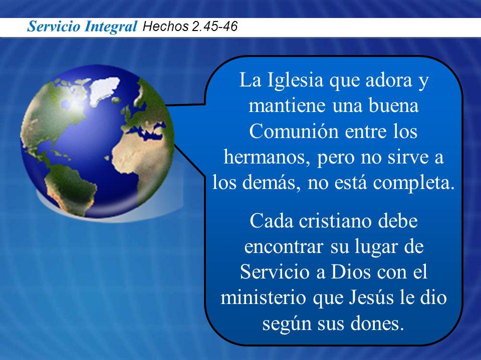Servicio Integral Hechos 2.45-46