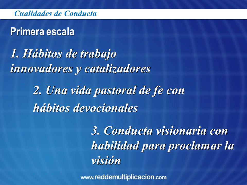 1. Hábitos de trabajo innovadores y catalizadores