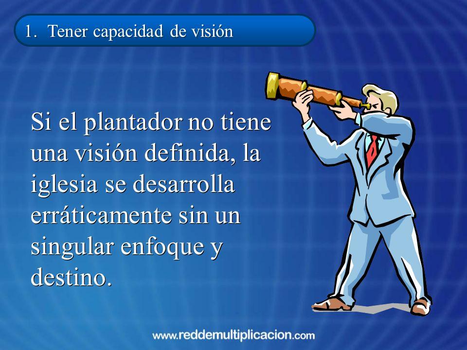 1. Tener capacidad de visión