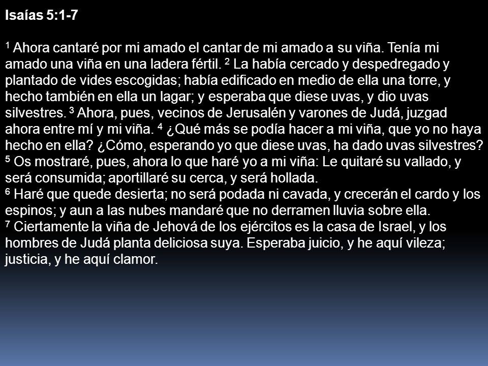 Isaías 5:1-7