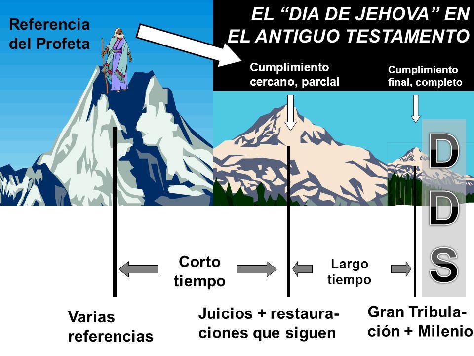 D S EL DIA DE JEHOVA EN EL ANTIGUO TESTAMENTO Referencia del Profeta