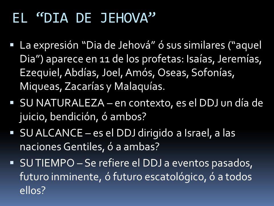 EL DIA DE JEHOVA