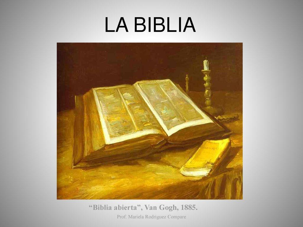 """""""Biblia Abierta"""", Van Gogh, Ppt Descargar"""