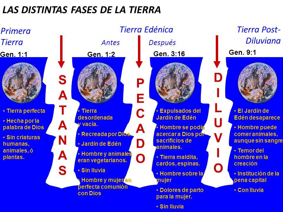LAS DISTINTAS FASES DE LA TIERRA