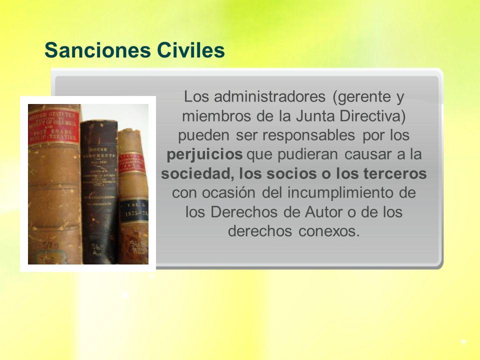 Sanciones Civiles