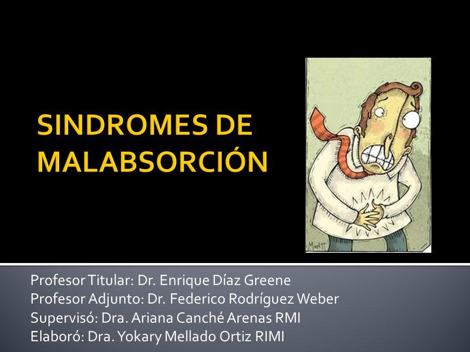 SINDROMES DE MALABSORCIÓN