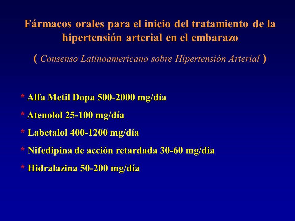 ( Consenso Latinoamericano sobre Hipertensión Arterial )