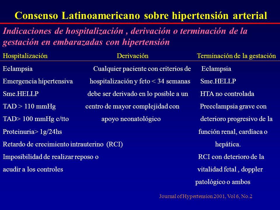 Consenso Latinoamericano sobre hipertensión arterial