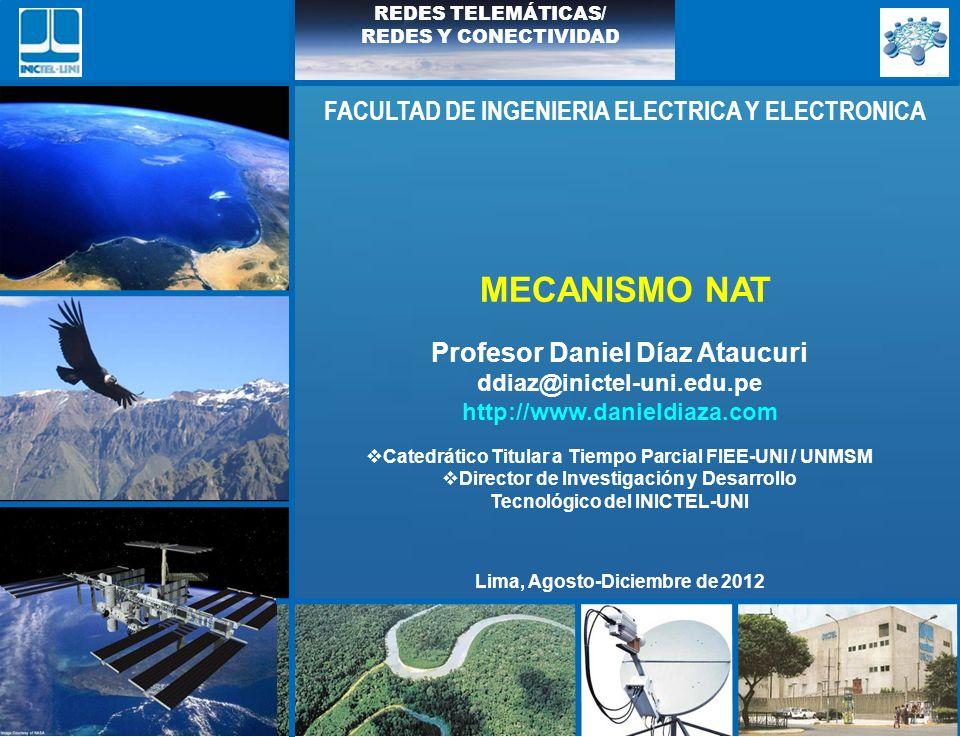 MECANISMO NAT FACULTAD DE INGENIERIA ELECTRICA Y ELECTRONICA