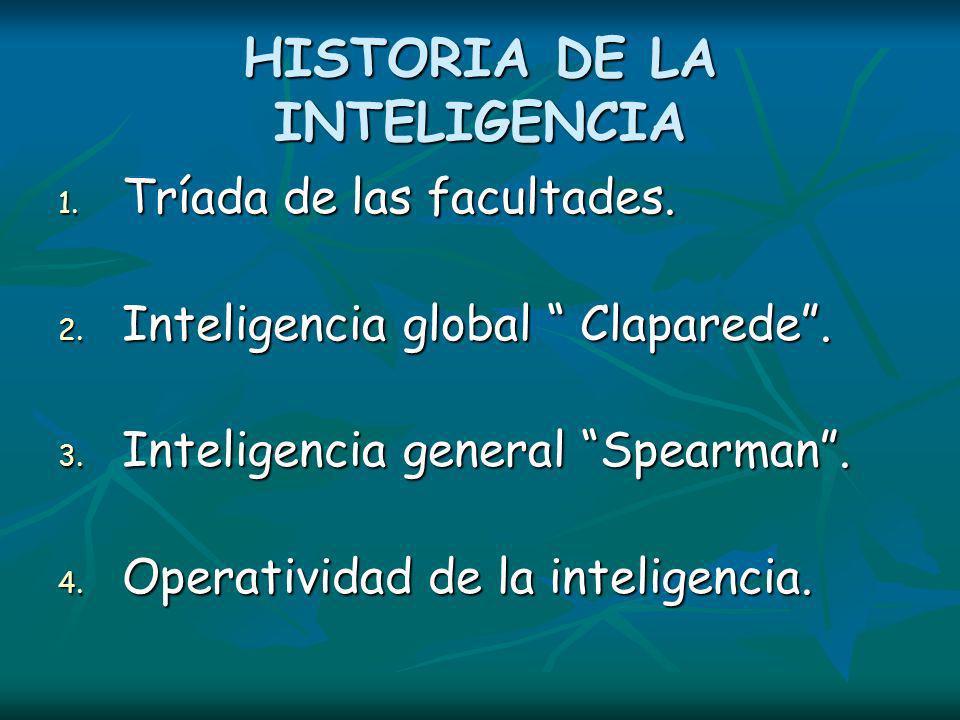 HISTORIA DE LA INTELIGENCIA