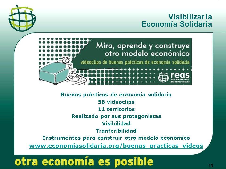 Visibilizar la Economía Solidaria