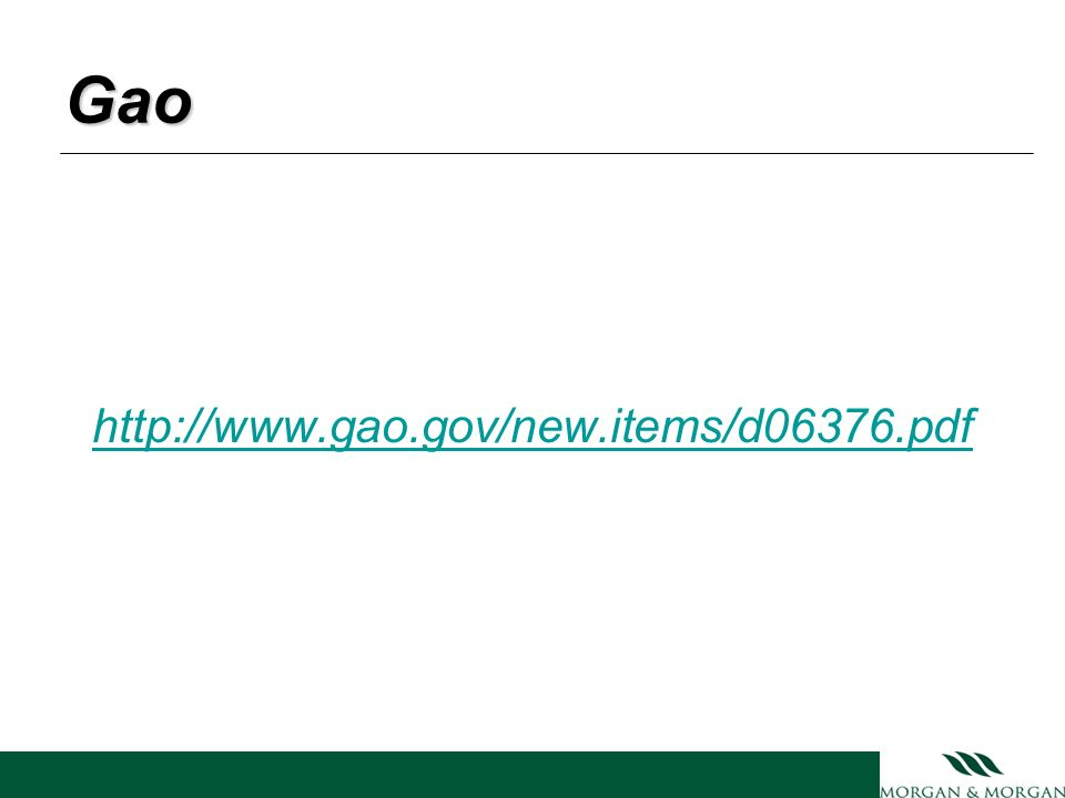 Gao http://www.gao.gov/new.items/d06376.pdf