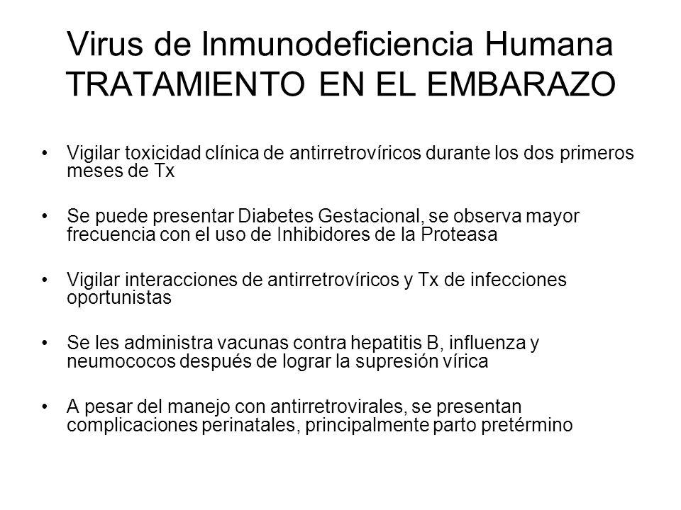 Virus de Inmunodeficiencia Humana TRATAMIENTO EN EL EMBARAZO