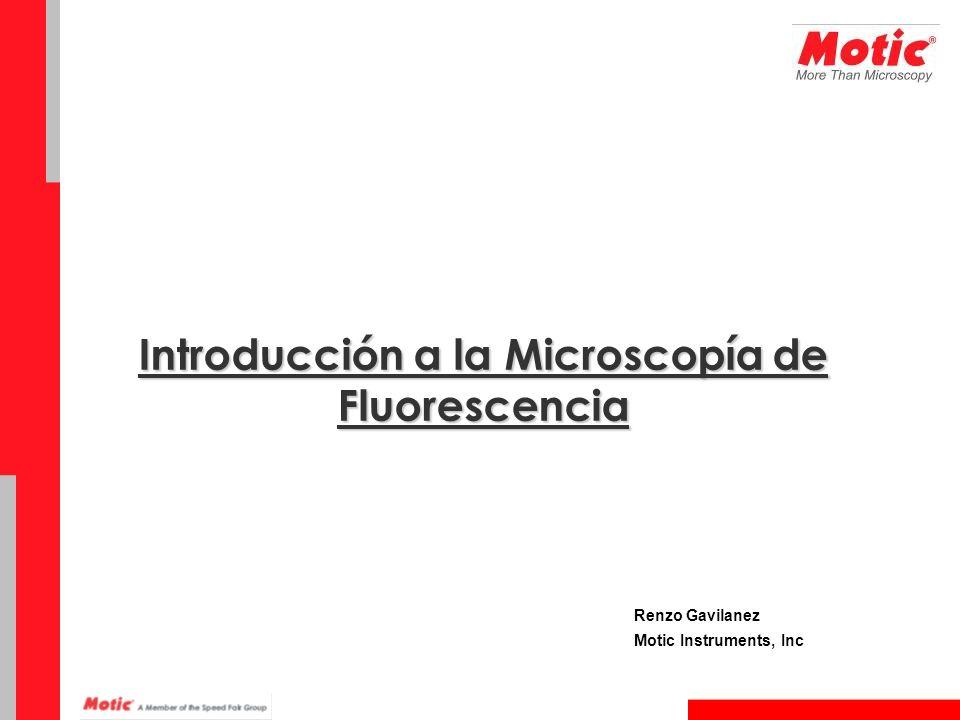 Introducción a la Microscopía de Fluorescencia