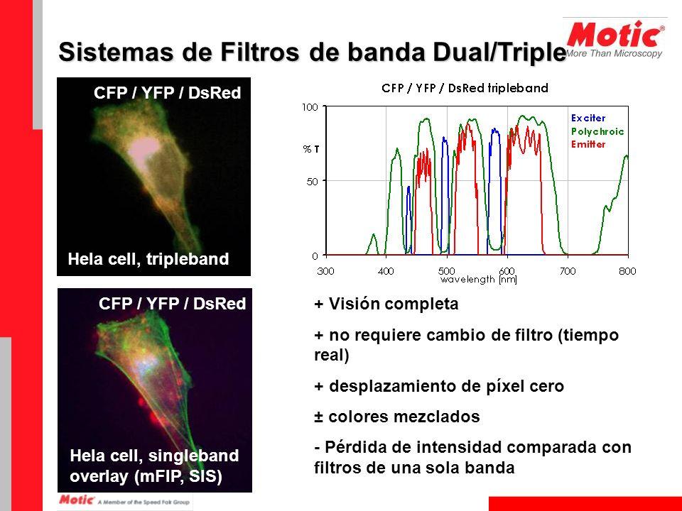 Sistemas de Filtros de banda Dual/Triple