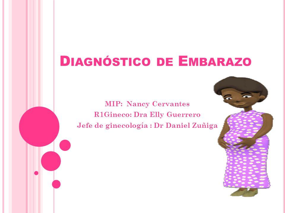Diagnóstico de Embarazo