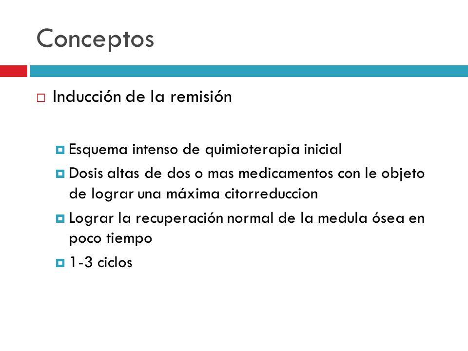 Conceptos Inducción de la remisión