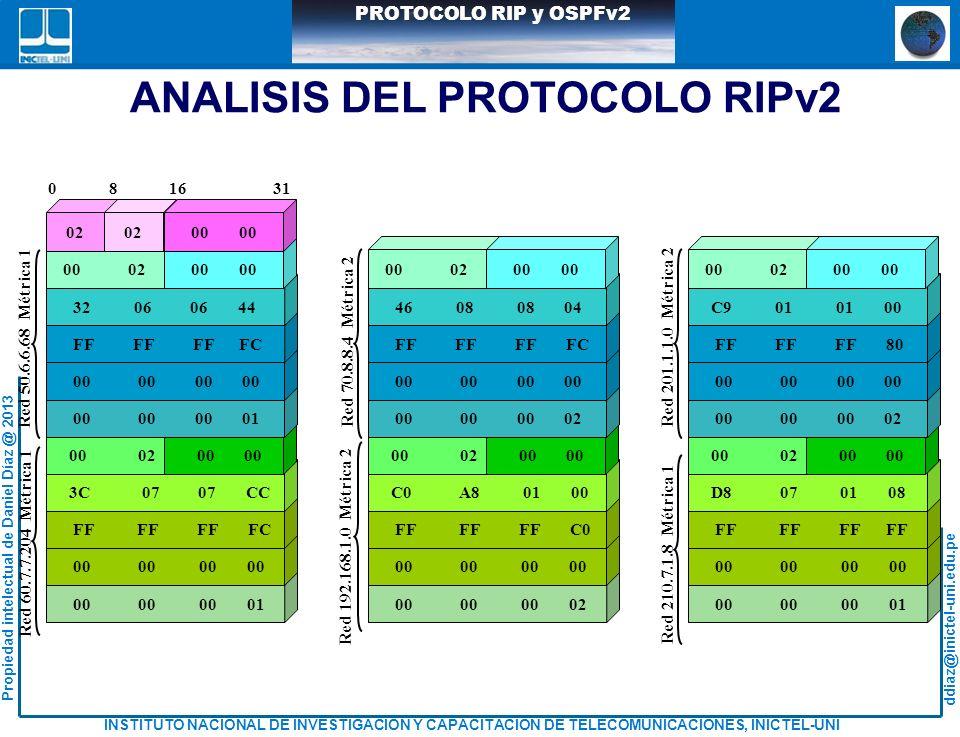ANALISIS DEL PROTOCOLO RIPv2