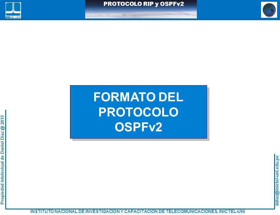 FORMATO DEL PROTOCOLO OSPFv2