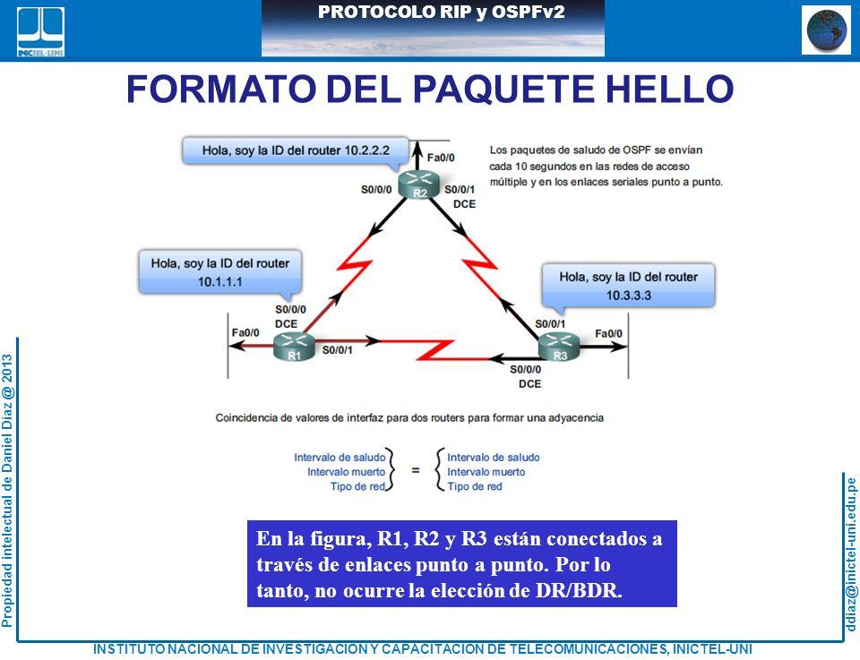 FORMATO DEL PAQUETE HELLO