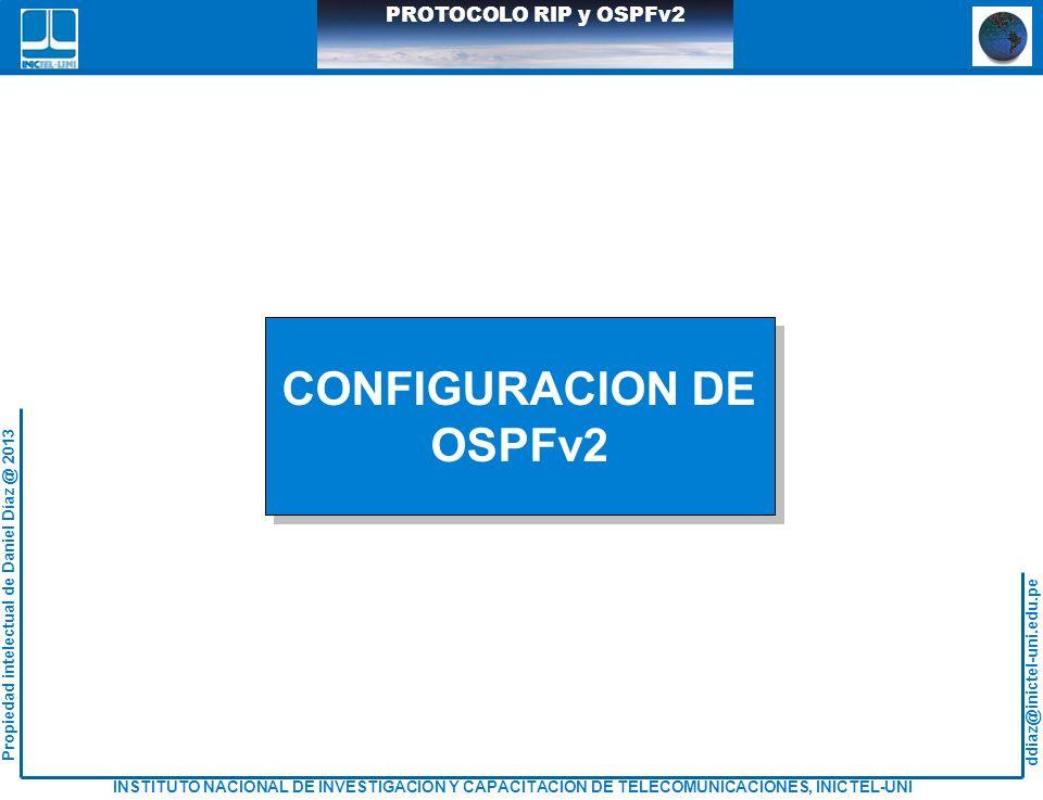 CONFIGURACION DE OSPFv2