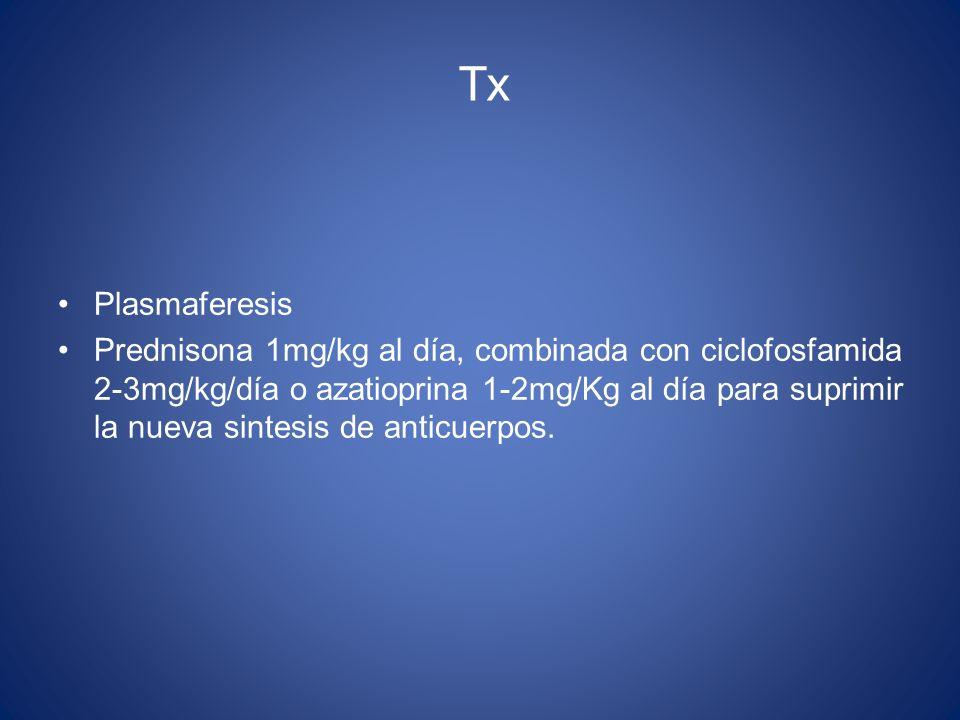 Tx Plasmaferesis.