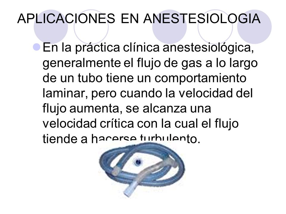 APLICACIONES EN ANESTESIOLOGIA