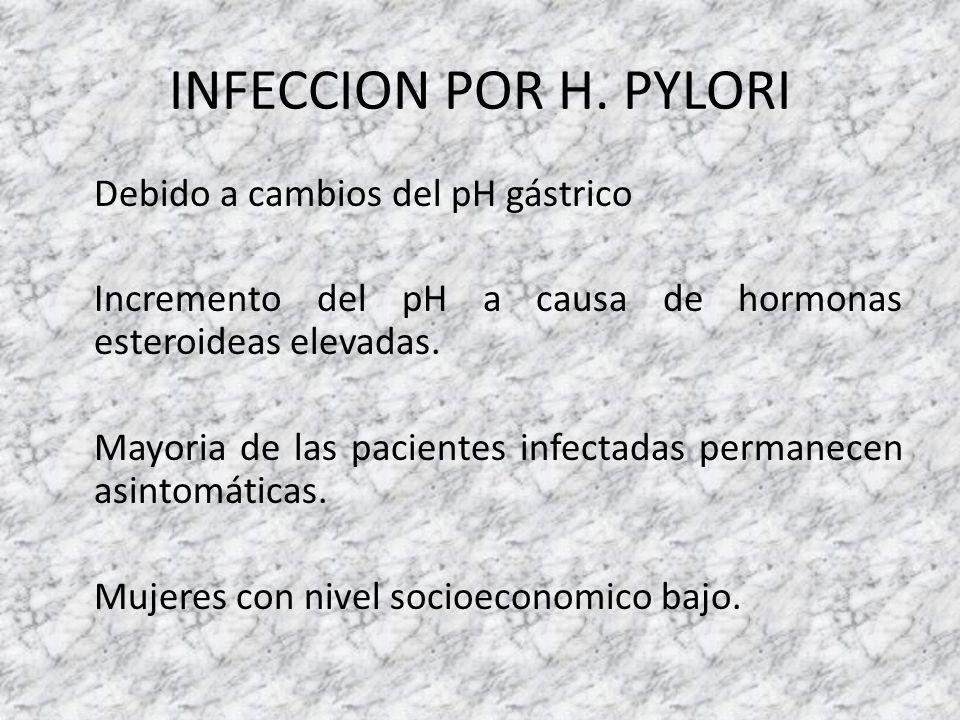 INFECCION POR H. PYLORI