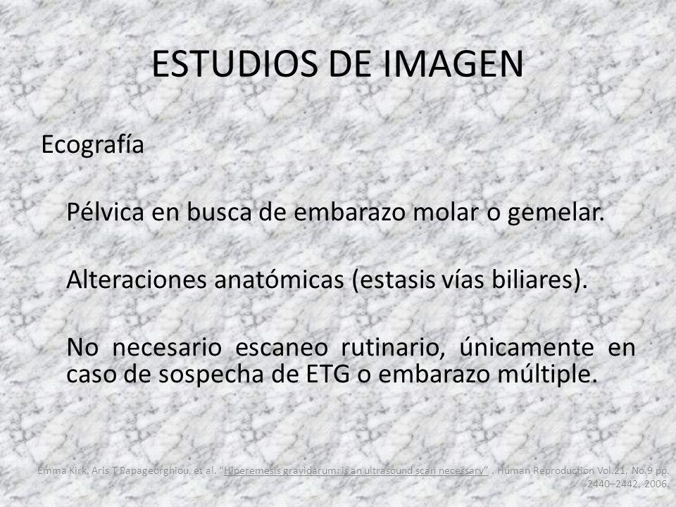 ESTUDIOS DE IMAGEN Ecografía