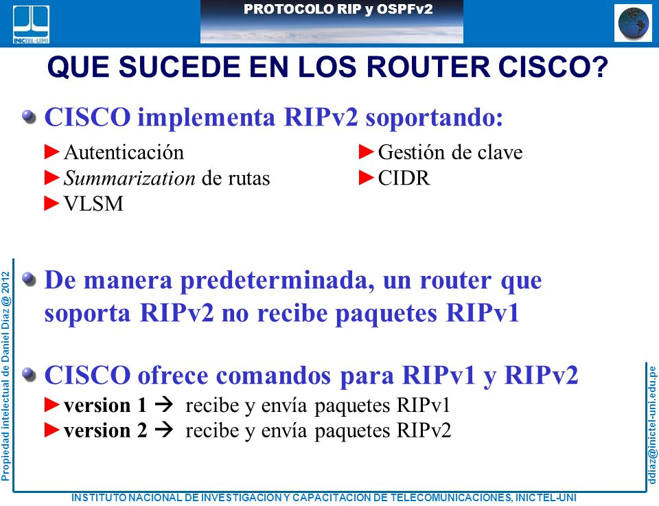 QUE SUCEDE EN LOS ROUTER CISCO