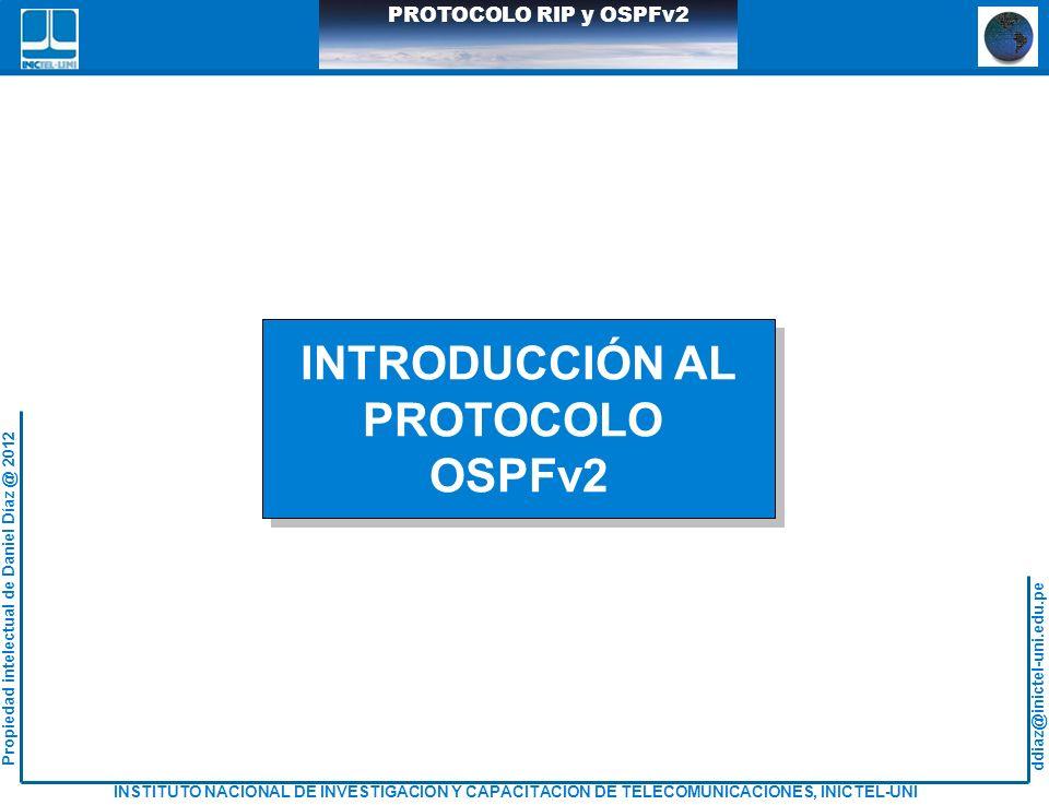 INTRODUCCIÓN AL PROTOCOLO OSPFv2