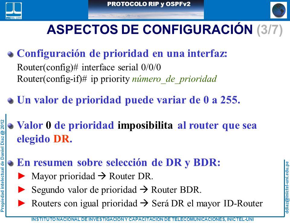 ASPECTOS DE CONFIGURACIÓN (3/7)