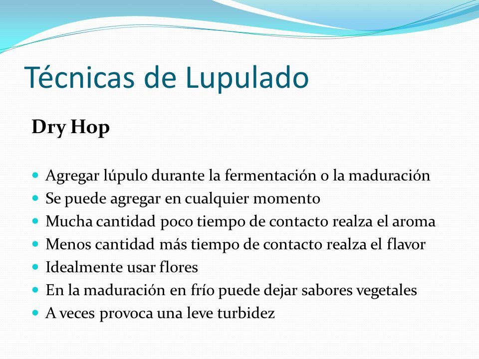 Técnicas de Lupulado Dry Hop