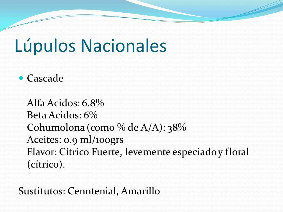 Lúpulos Nacionales